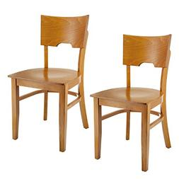 Beechwood Mountain BSD-11S-C Solid Beech Wood Side Chairs in