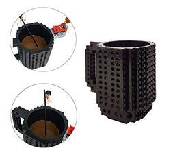 OSOPOLA Build-On Brick Mug Coffee Cup DIY Type Plastic Creat