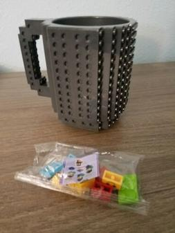 Build-On DIY Bulding Blocks Coffee Mug 12 oz Creative Drinka