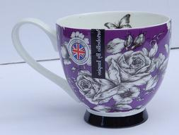 PORTOBELLO BY INSPIRE FINE BONE CHINA PURPLE F COFFEE TEA MU