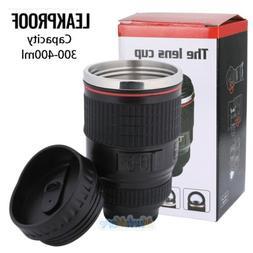 Camera Lens Coffee Mug Cup Tea Travel Photo Funny DSLR Stain
