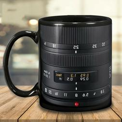 Camera Lens Photographer Mug, 11oz, 15oz Coffee Mug