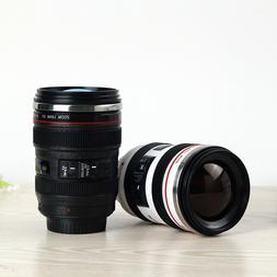 Camera Lens Shape Cup Coffee Tea Travel <font><b>Mug</b></fo