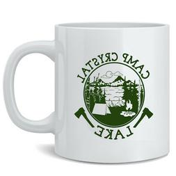 Camp Crystal Lake 12 oz Coffee Mug 3x5
