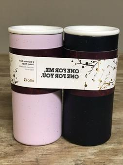 Ello Campy Insulated Stainless Steel Travel Mugs Set Of 2 Pi