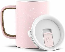 Campy Vacuum Insulated Stainless Steel Coffee Mug with Slide