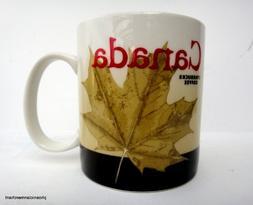 Starbucks Canada Global Icon Series City Coffee Tea Mug