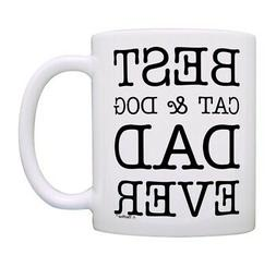 Cat and Dog Gifts Best Cat & Dog Mom Ever Coffee Cup Dog Cer