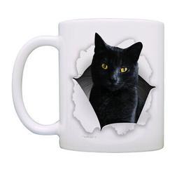 Cat Gifts for Women & Men Cat Face Coffee Mug Cat Owner Gift