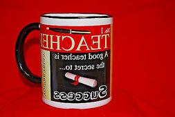 """Ceramic Coffee Mug For a """"No. 1 TEACHER"""""""