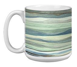 Tree-Free Greetings Extra Large 20-Ounce Ceramic Coffee Mug,