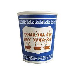 """Exceptionlab Inc. 10-Ounce Ceramic Cup""""We are happy to serve"""