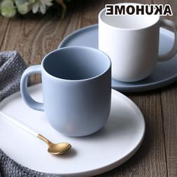 ceramic matte blue white font b coffee