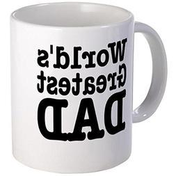 "11 Ounce Ceramic Printed Coffee Mug World's Greatest Dad """