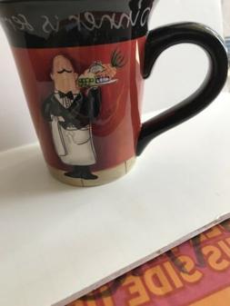 Certified International Waiter Dinner is Served Coffee Mug T