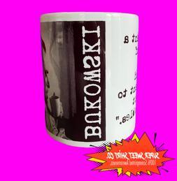 Charles Bukowski Coffee Mug/ Chinaski / Ceramic Handled Mug