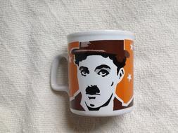 CHARLIE CHAPLIN coffee / tea mug / cup - NEW old stock - Kil