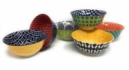 Certified International Chelsea 6 Ceramic Bowls