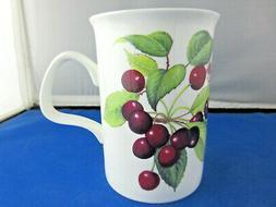 CHERRY  free shipping FINE  BONE CHINA mug Roy Kirkham,made