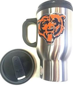 Chicago Bears  Stainless Steel Travel Mug Man Cave must Coff