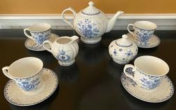 BTäT - Tea Set, China Tea Set, Tea Service, Tea Cups , Crea