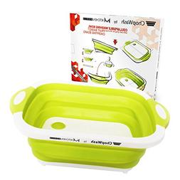 ChopWash by M KITCHEN WORLD Collapsible Dish Tub | Cutting B
