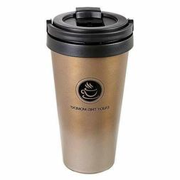 Classic 17oz Coffee Cup, Coffee Mug with Quick Seal Spill St