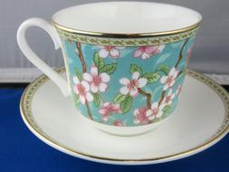 CLASSIC CHERRY BLOSSOM BONE CHINA  BREAKFAST CUP SAUCER KIRK