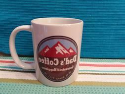 Classic Funny Coffee Mug 11oz or 15oz - Dad's Coffee Guarant