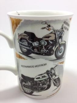Classic Motorcycles Mug Roy Kirkham Fine Bone China Nostalgi