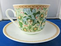 CLASSIC ORCHARD FINE BONE CHINA  BREAKFAST CUP SAUCER, ROY K