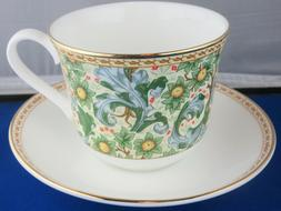 CLASSIC ORCHARD FRUIT FINE BONE CHINA  BREAKFAST CUP SAUCER