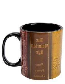 Victorian Trading Co Book Lovers Librarian Coffee Mug