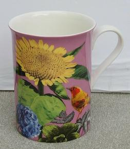 STECHCOL COASTLINE IMPORTS GRACIE BONE CHINA COFFEE TEA MUG