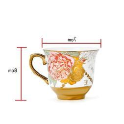 Coffee Capacity Set Tea Cup and Saucer Tea Cups and Saucers