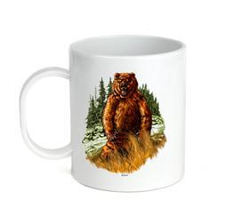 Coffee Cup Mug Travel 11 15 oz Bear Wildlife Grizzly Brown A