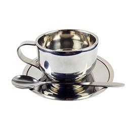 Coffee Cup Set - Stainless Steel Double Walled Insulated Cof