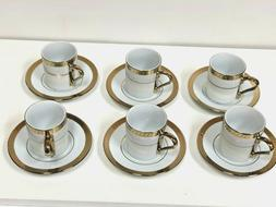 Coffee Cup Set Fine  Porcelain  Greek/Espresso/Arabic  Set