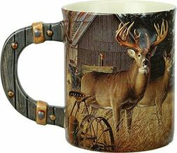 Coffee Cups Mug Deer Farm Rustic Wildlife Hunting Drinkware