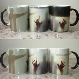 Coffee Milk Magic Mug Color Changing Heat Sensitive Battery