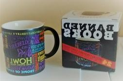 The Unemployed Philosophers Guild Coffee Mug  Banned Books N