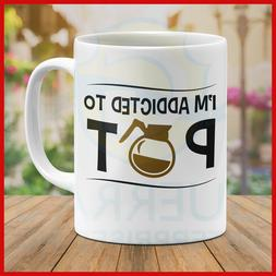 Coffee Mug Design Special Gift Present Funny I'm Addicted To