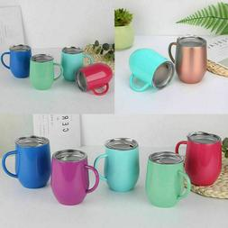 Coffee Mug Double Wall Stainless Steel Cup Insulated Tumbler