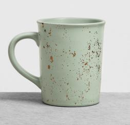 Coffee Mug Large Green Speckled - SET OF 2  - +DISCOUNTS - 1