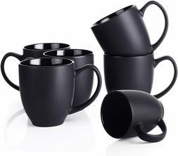 DOWAN Coffee Mug Set, 16 OZ Coffee Mug Set of 6, Ceramic Mug
