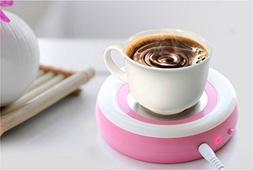 Surborder Shop Coffee Mug Warmer Desktop USB Electronics Hea