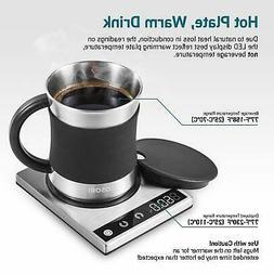 COSORI Coffee Mug Warmer & Mug Set,Electric 24Watt Beverage