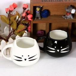Coffee Tea Cup Milk Juice Water Mug Handgrip Couple Lover Ca