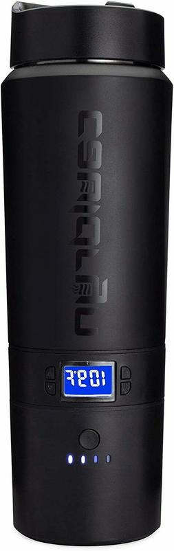 Cauldryn Coffee Travel Mug - Heated Mug, Vacuum Bottle, Temp