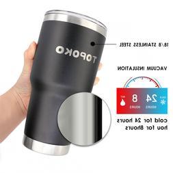 coffee tumbler insulated mug stainless steel leak